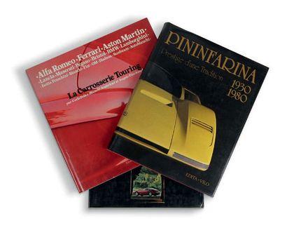 CARROSSIERS ITALIENS Lot de 3 livres sur...
