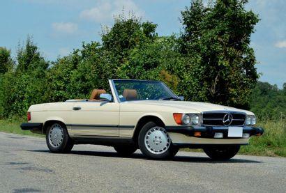 1986 - MERCEDES 560 SL