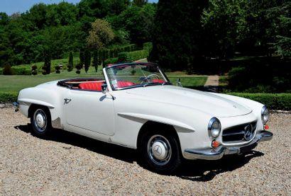 1960 - MERCEDES-BENZ 190 SL