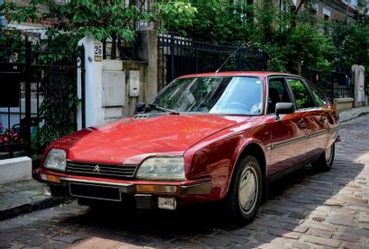 1985 - CX 25 GTI TURBO SÉRIE 1