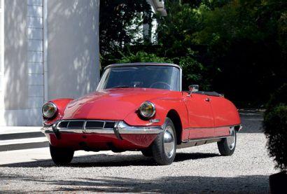1963 - CITROËN DS 19 CABRIOLET