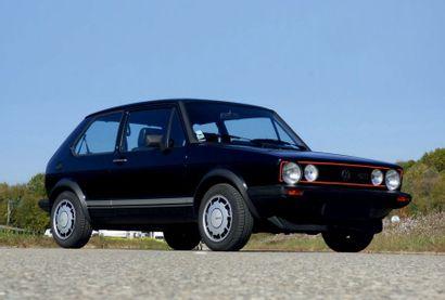 1983 - VOLKSWAGEN GOLF I GTI 1800 PIRELLI