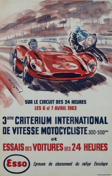 CRITERIUM INTERNATIONAL DE VITESSE 1963 ET...