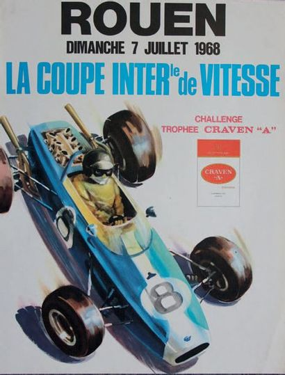 COUPE INTERNATIONALE DE VITESSE 1968 Circuit...