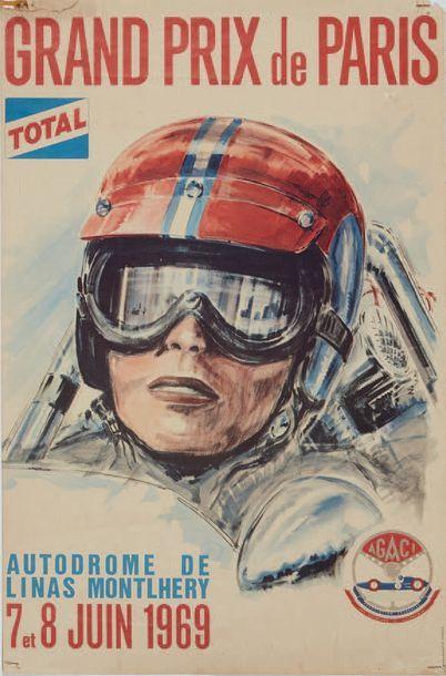 GRAND PRIX DE PARIS 1969 Autodrome Linas...