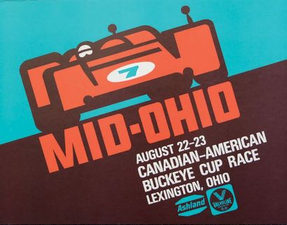 CAN-AM MID-OHIO Buckeye cup race Lexington...
