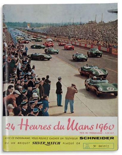 24 HEURES DU MANS Programme officiel de l'édition...
