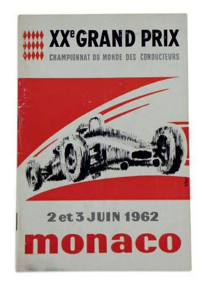GRANX PRIX DE MONACO   Programme officiel...