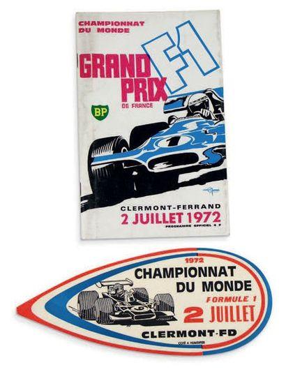 GRAND PRIX DE FRANCE Programme officiel de...