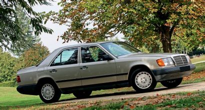 1988 - MERCEDES-BENZ 300 E N° de châssis/Chassis n°: WDB1240301A773295 Carte grise...