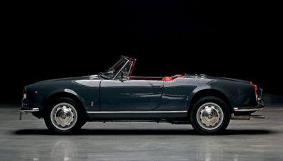 1961 - ALFA ROMEO GIULIETTA SPIDER 1300 N° de châssis/Chassis n°: 10103 AR 170363...