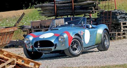 AC COBRA 289 MK II FIA N° de châssis/Chassis n°: COB1001 Titre de circulation allemand/German...