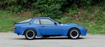 1981 - PORSCHE 924 TURBO GTS N° de châssis/Chassis n°: WP0ZZZ93ZBN101126 Carte grise...