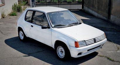 1988 - PEUGEOT 205 RALLYE 1.3l Gr. N/MATTER COMPÉTITION N° de châssis/Chassis n°:...
