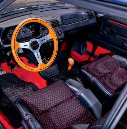 1991 - PEUGEOT 205 GTI LE MANS Châssis n°/Chassis number: Carte grise française/French...