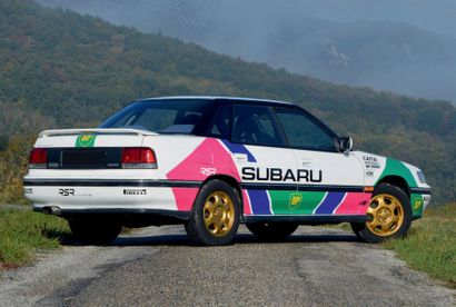 1992 - SUBARU LEGACY TURBO 4WD Carte grise française/French registration papers Châssis...