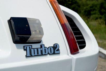 1984 - RENAULT R5 TURBO 2 Titre de circulation monégasque/Registration: Monaco Châssis/Chassis...