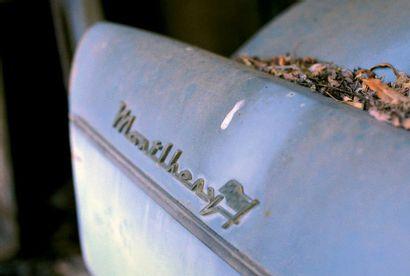 1962 - SIMCA P60 MONTLHÉRY N° de châssis/Chassis N°: 1407454 Carte grise française...