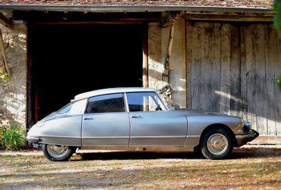 1967 - CITROËN DS 19 M PALLAS N° de châssis/Chassis number: 4444141 Carte grise française...