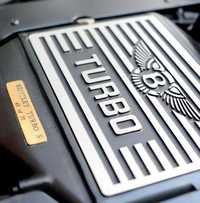 1995 - BENTLEY TURBO S N° de châssis/Chassis number: X56842 Carte grise française...
