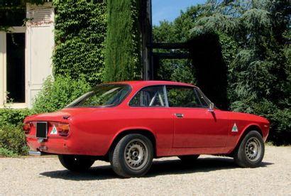 1965 - ALFA ROMEO GIULIA SPRINT GT Carte grise française/French registration papers...