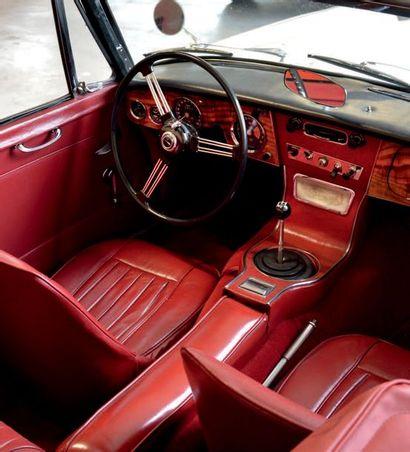 1964 - AUSTIN-HEALEY 3000 BJ8 MK 3 Carte grise française de collection/French registration...