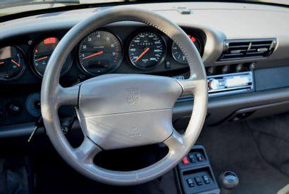 1995 - PORSCHE 911 TYPE 993 CABRIOLET N° de châssis/Chassis number: WPOZZZ99ZSS331399...