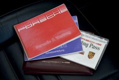 1989 - PORSCHE 911 3.2 SPEEDSTER TLU Carte grise française/French registration papers...