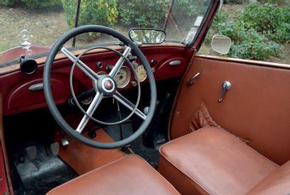 1937 - MERCEDES - BENZ 170 V B Carte grise française/French registration papers N°...