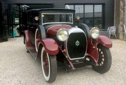 1926 - HOTCHKISS AM 2 N° de châssis / Chassis number: 10139 Carte grise française...