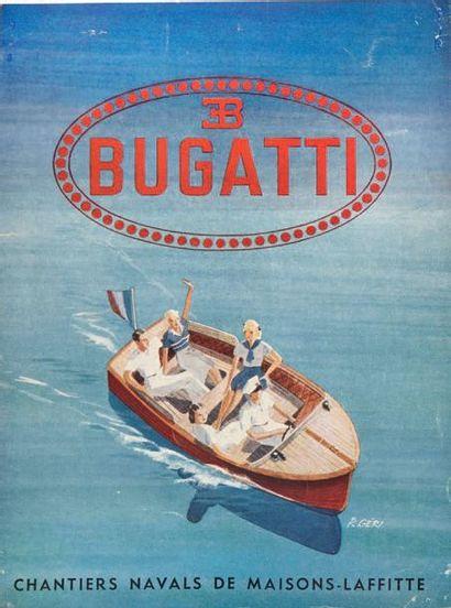 BUGATTI Dépliant 3 volets présentant le You-You...