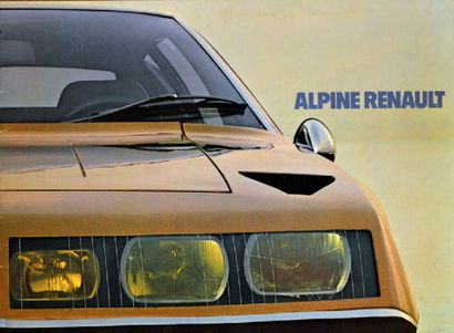 ALPINE RENAULT Catalogue de présentation...