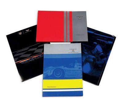 GM RACING - CHRYSLER RACING Lot de 4 dossiers...