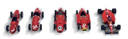 4 Brumm/1 Onyx Lot de 5 Ferrari Monoplace...