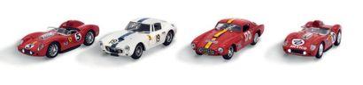2 Brumm/2 Bang Lot de 4 Ferrari: - Deux 250...