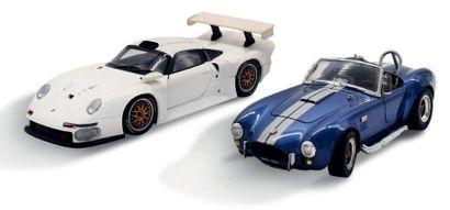 AC Cobra et Porsche GT1 1/18ème/Bon état