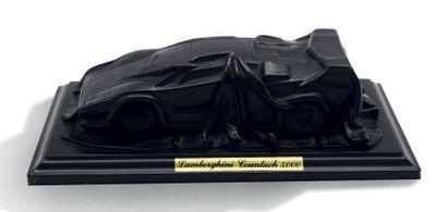 Sculpture en plâtre Lamborghini Countach...