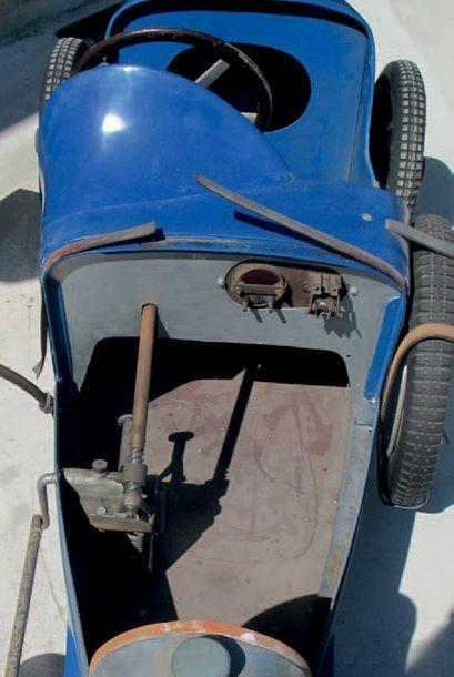 1927 - Bugatti Baby «Type 52» Châssis/Chassis: 183 Fidèle reproduction des célèbres...