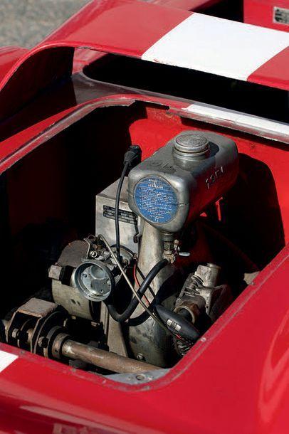 1962 - Ferrari 330 P2 par SCAF - François Mortarini Châssis/Chassis: 024 Dans la...