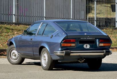 1976 - ALFA ROMEO GTV 2000 Carte grise française/French registration papers Châssis...