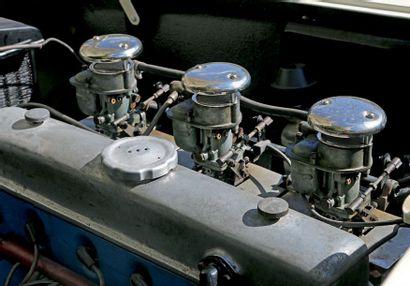 1952 - DELAHAYE 235 CABRIOLET ANTEM Numéro de châssis/Chassis number: 818022 Carte...