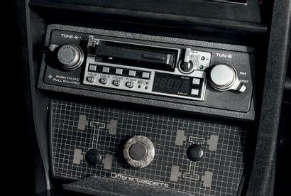 """1982 - AUDI COUPÉ QUATTRO """"85WR2"""" Châssis n°/Chassis number: WAUZZZ85ZCA900469 Carte..."""