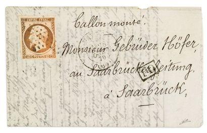 + ALLEMAGNE - 28 OCTOBRE 1870 40c Empire...