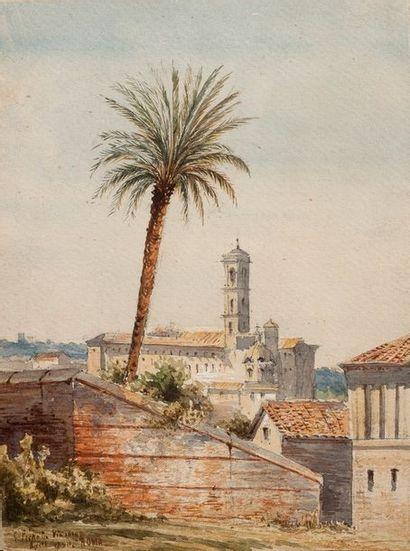 ÉCOLE ANGLAISE, 1860