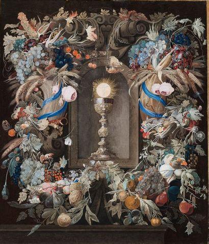 ECOLE ALLEMANDE VERS 1700-1720 SUIVEUR DE JAN DAVIDSZ DE HEEM
