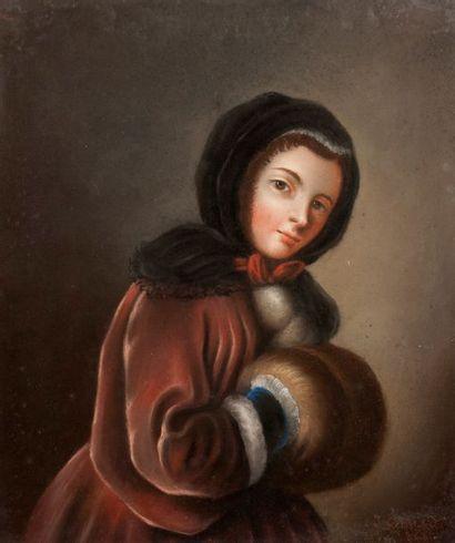 JEAN-CLAUDE-NICOLAS COUTURIER D'APRÈS FRANÇOIS BOUCHER (DIJON 1796 - CHÂLONS-SUR-SAÔNE 1875)