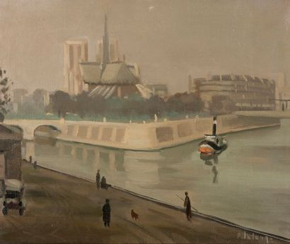 Pierre Emile Gabriel LELONG (1908-1984)