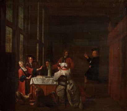 ATTRIBUÉ À MAXIMILIAN BLOMMAERDT (ACTIF VERS 1696)