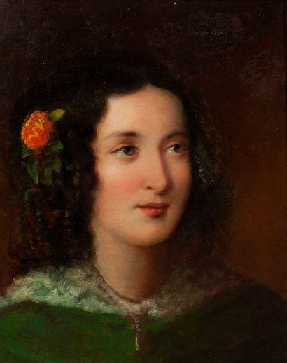 FRANZ SCHROTZBERG (VIENNE 1811 - GRAZ 1889)