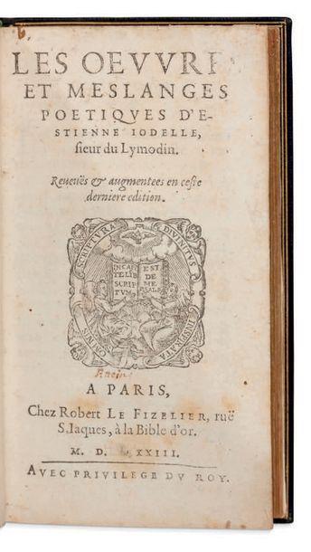 ETIENNE JODELLE (1532-1573)
